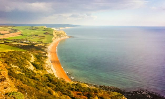 The Easy Way to Walk to Golden Cap Jurassic Coast Dorset