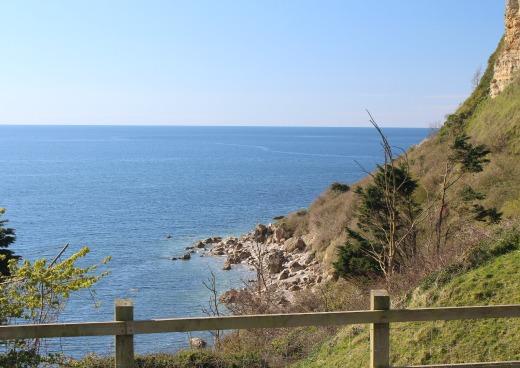Coast Path Walk to Beer Seaton Hole
