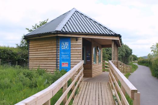 Flip Flops or Wellies Seaton Wetlands