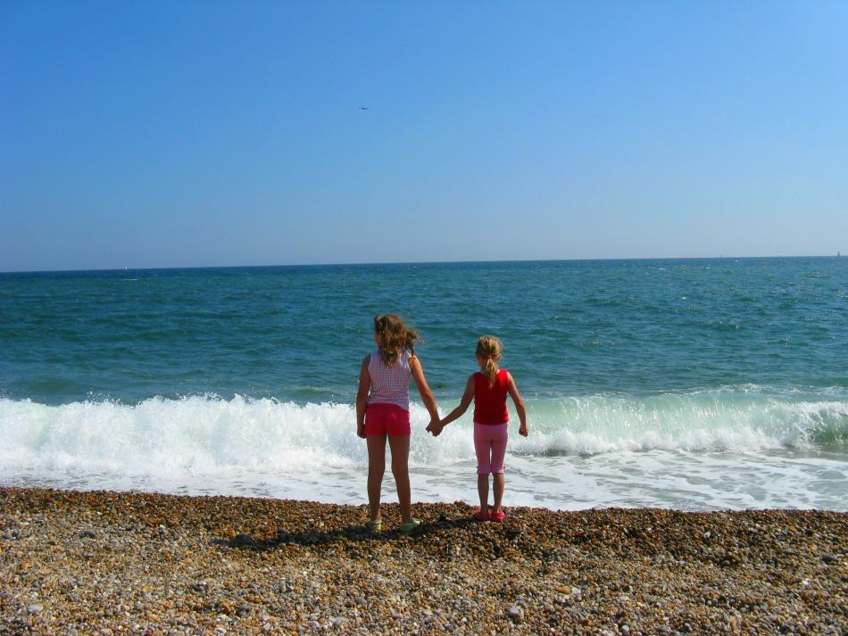 Flip Flops or Wellies Seaton Beach Girls