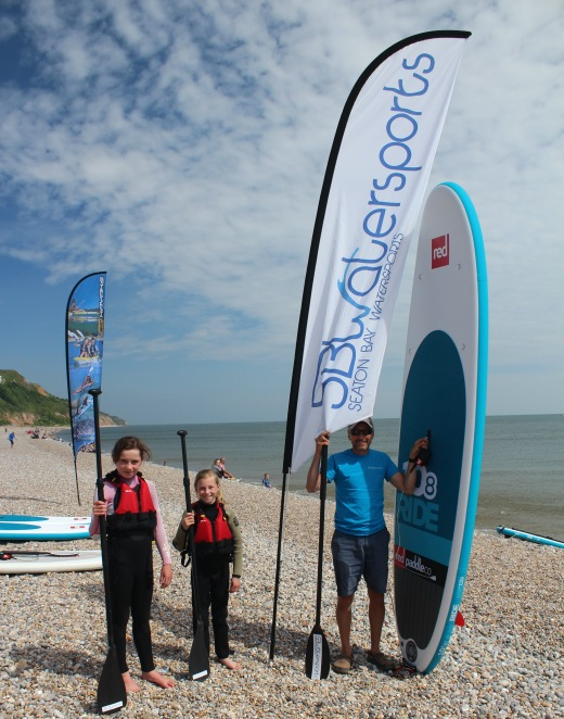 Paddle Boarding in Devon and Dorset ready to go