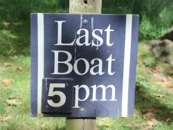 Brownsea Island last boat