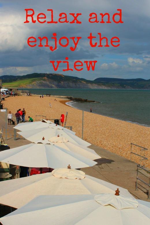Events in Lyme Regis promenade relax