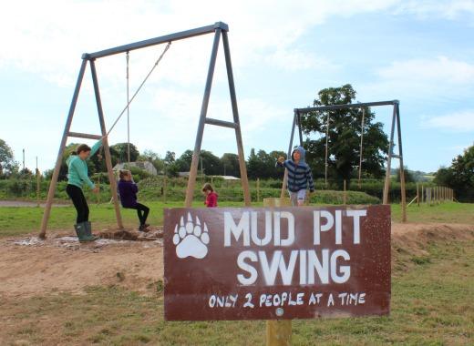 Bear Trail Cullompton mud pit