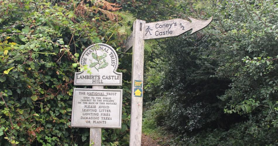Lambert's Castle a Great Walk in Dorset