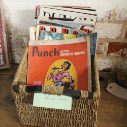 The Vintage Shed Colyton magazines