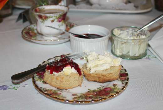 Royal Oak Farm Award Winning Cream Tea