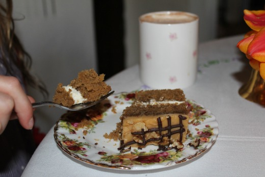 Royal Oak Farm Award Winning Cream Tea Coffee Cake