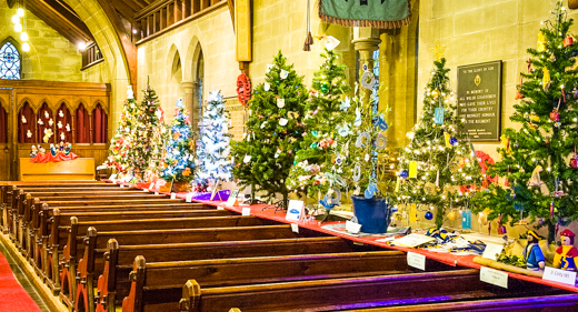 Christmas-Tree-Festival Church
