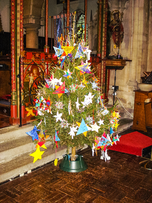 Christmas-Tree-Festival in Churches