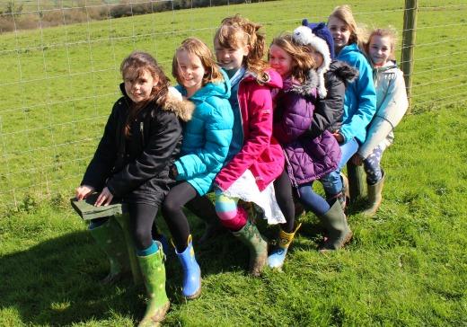 Deer Rescue Centre girls