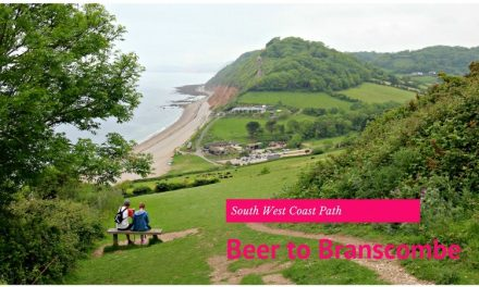 South West Coast Path Beer to Branscombe Walk