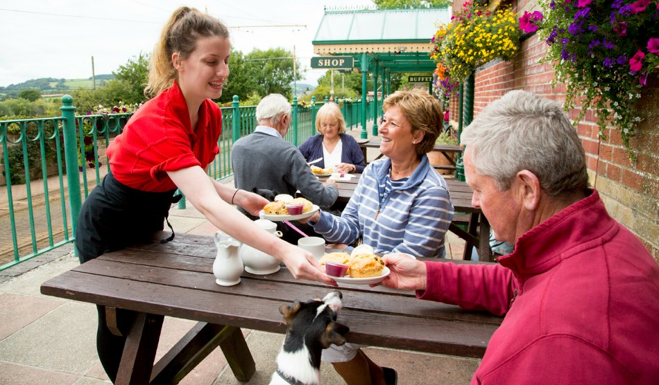 Best-Top-Places-for-a-Cream-Tea-in-East-Devon-Seaton-Tramway