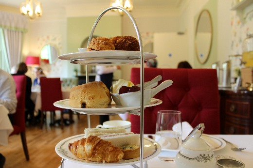 Fairwater Head Hotel Laura Ashley Tea Room afternoon tea