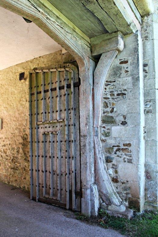 Shute Barton National Trust Historic House Devon Guided Tour gate house