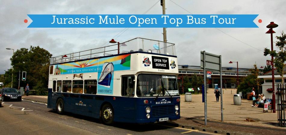 Open Top Bus Sightseeing Tour Devon and Dorset
