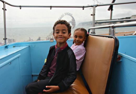 open top bus sightseeing tour devon and dorset seaton