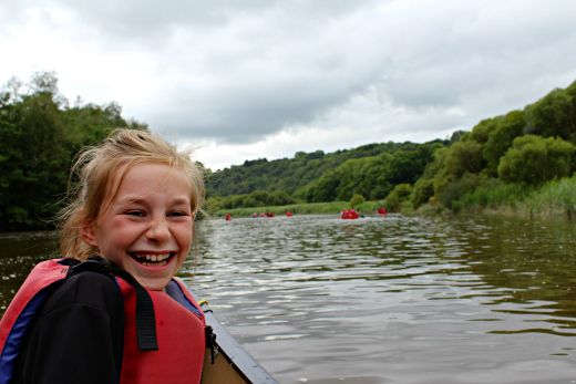 Family Canoeing in Devon and Cornwall with Tamar Trails f