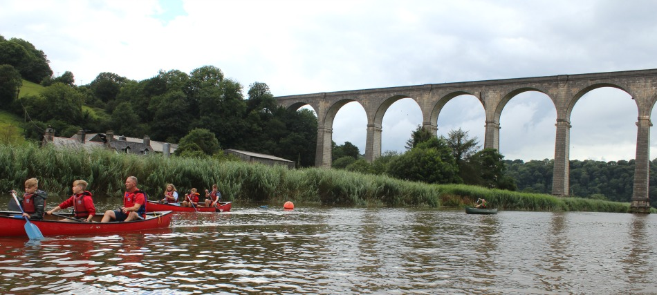 Family Canoeing in Devon and Cornwall with Tamar Trails