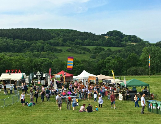 River Cottage Spring Fair Summer Festival field