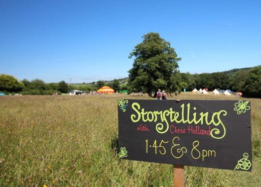 Goren Festival Family Music Festival Devon story telling
