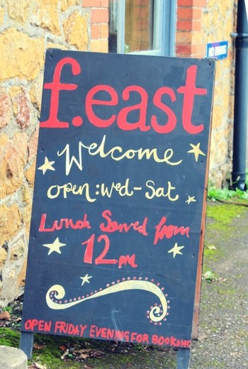 f.east Cafe and Vegetarian Food in Somerset