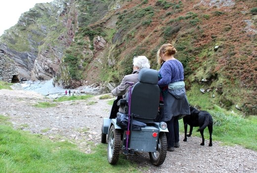 Heddon Valley A Short Accessible Walk in North Devon National Tramper Hire