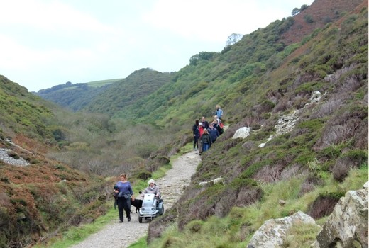Heddon Valley A Short Accessible Walk in North Devon tramper
