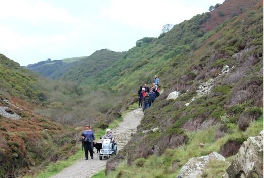 Heddon Valley A Short Accessible Walk in North Devon tramper