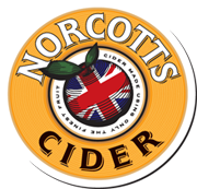 Norcotts Cider logo-badge