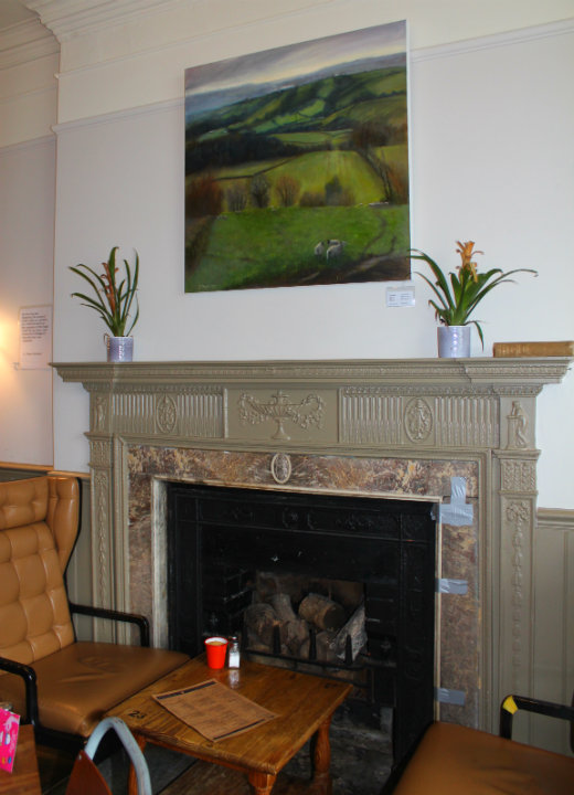Boston Tea Party Honiton cafe review lounge room