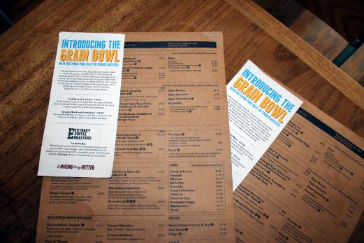 Boston Tea Party Honiton cafe review new menu
