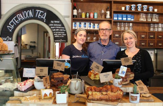 Boston Tea Party Honiton cafe review staff