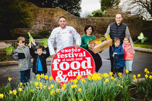 Exeter Festival of Food and Drink 2018 including Shillingford Organic Farm School