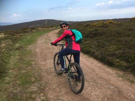 Outdoor Adventures in Somerset mountain biking Clare