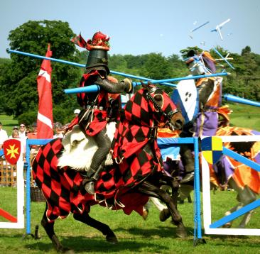 Powderham Castle jousting events