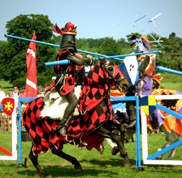 Powderham Castle jousting events