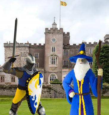 Powderham Castle lego event May Half term