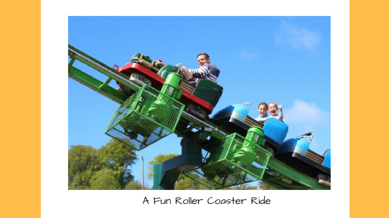 Family Day Out in Devon at The Big Sheep Roller Coaster