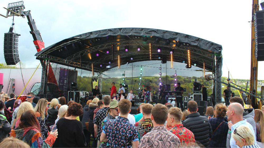 Great Devon Music Festivals - Pigstock festival music