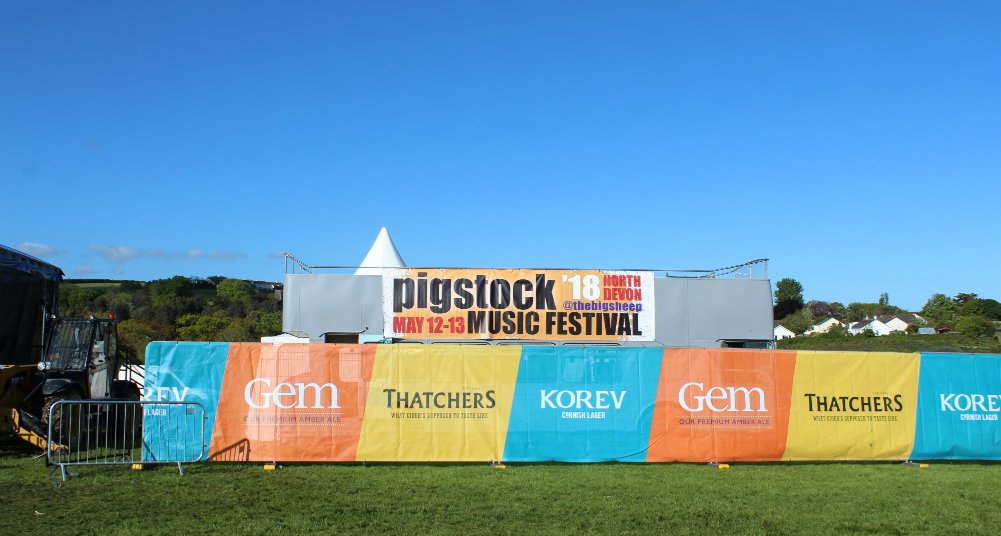 Great Devon Music Festivals - Pigstock festival