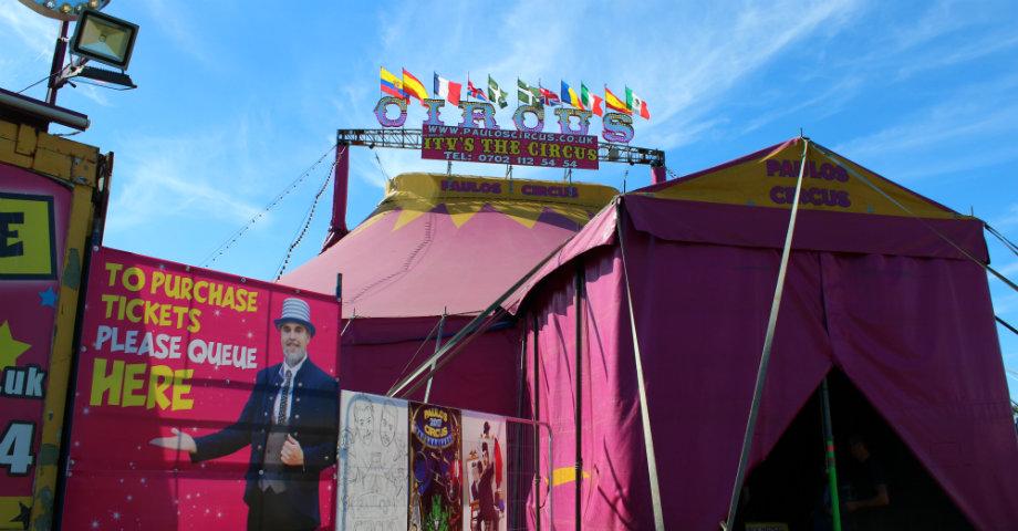 Paulos Circus entrance