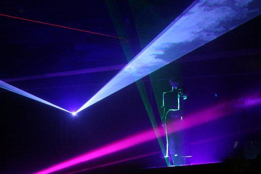 Paulos Circus laser show