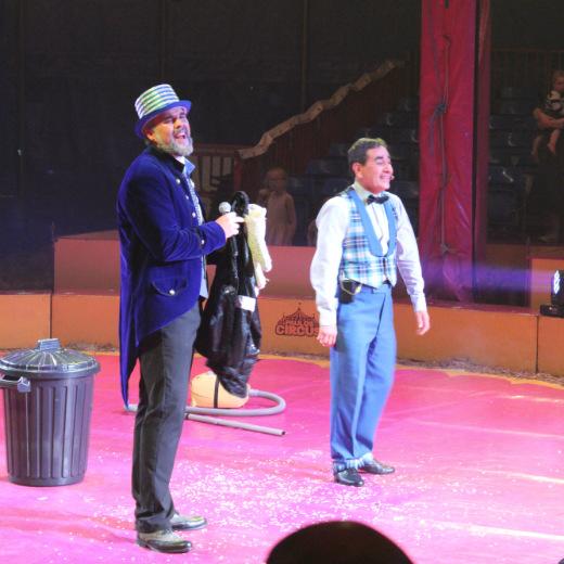Paulos Circus ring leader