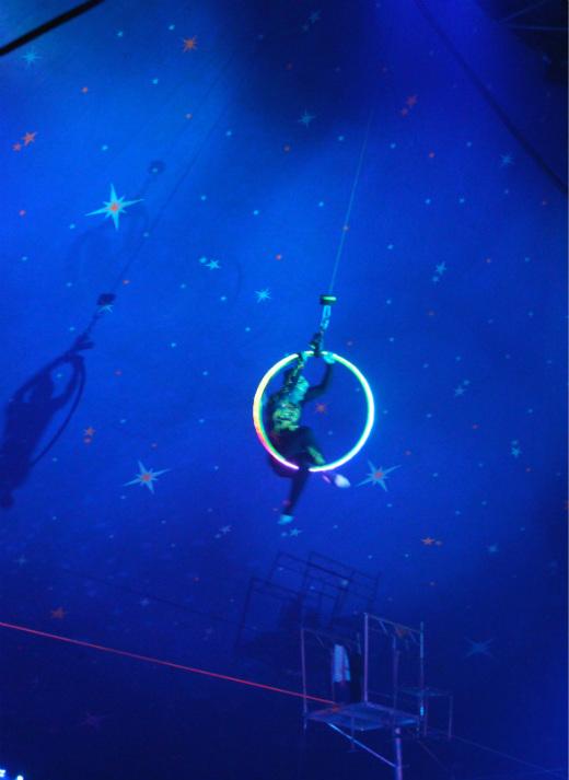 Paulos Circus trapeze act