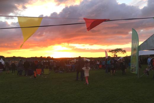 Pigstock sunset