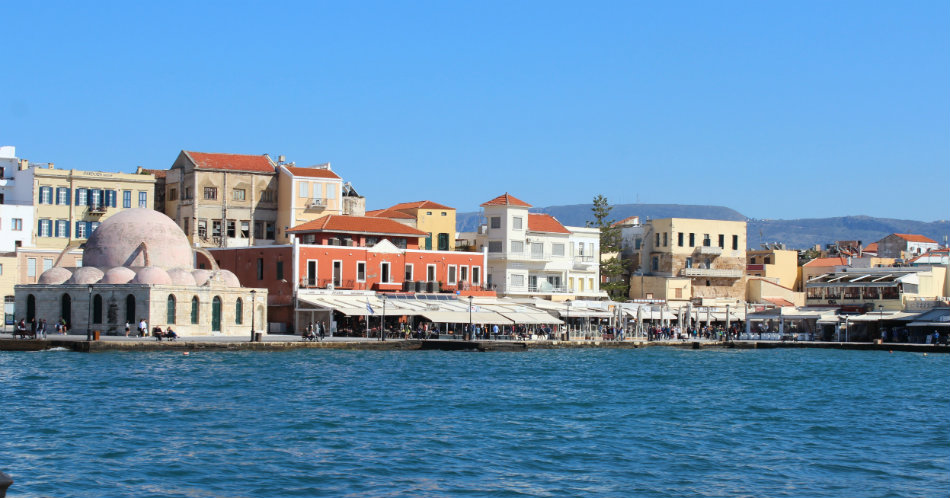 Crete on the Cheap Venetian Harbour Chania