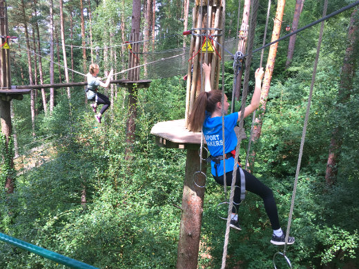 Active Day Out Go Ape high ropes Exeter