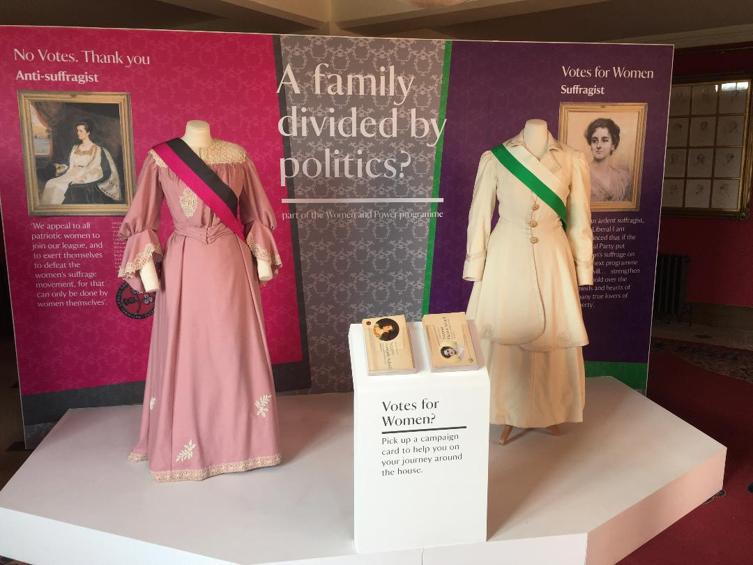 Devon Days Out Killerton National Trust Clothes Display