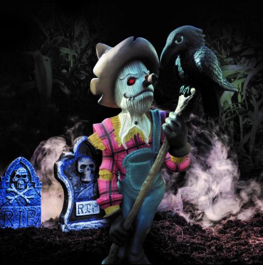 Crealy Scarecrow Halloween Fun